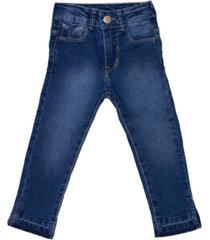 jeans tajali azul maria pompon