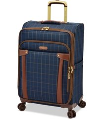 "london fog brentwood 25"" softside expandable check-in luggage, created for macy's"