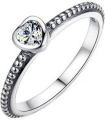 anillo compromiso corazón amor arany joyas