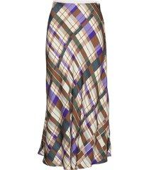 alsop skirt aop 8325 knälång kjol multi/mönstrad samsøe samsøe