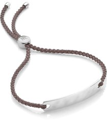 women's monica vinader engravable havana mini friendship bracelet