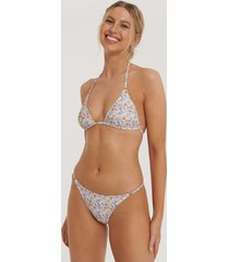 na-kd swimwear detail thin strap bikini brief - multicolor