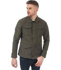 mens 4 pocket coated cotton jacket
