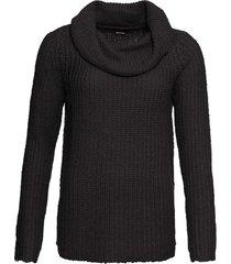 maglione a collo alto (nero) - bodyflirt