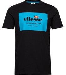 el grosso tee t-shirts short-sleeved svart ellesse