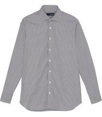 'alvaro' stripe spread collar shirt
