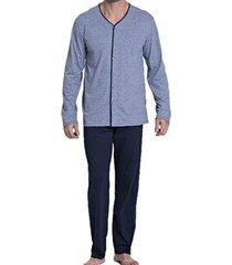 pijama recco de malha soft masculina