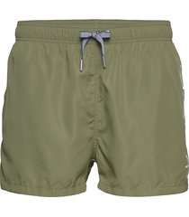 logo swim shorts lightweight badshorts grön gant