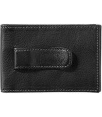 johnston & murphy men's two-fold money clip wallet