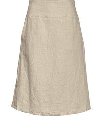 sara knälång kjol brun masai