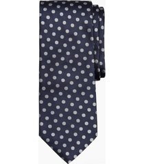 corbata melange dot azul brooks brothers