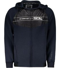 jaqueta fatal especial logo masculina