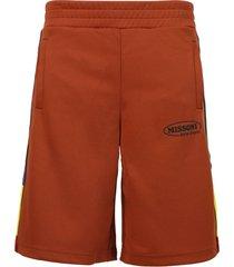 x missoni track shorts