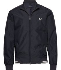 twin tipped sports jkt bomberjacka jacka blå fred perry