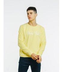 buzo amarillo dn3 brand