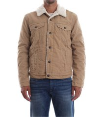 16365 sherpa trucker outerwear en jacks