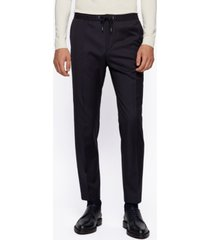 boss men's banks ret slim-fit trousers