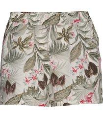 onlnova lux shorts aop wvn 9 shorts flowy shorts/casual shorts beige only