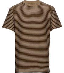 akkikki t-shirt t-shirts short-sleeved brun anerkjendt