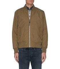 'manston' reversible bomber jacket