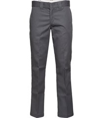 slim straight work pant chinos byxor grå dickies