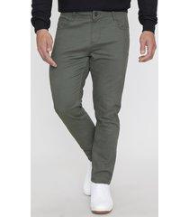 pantalón 5 pocket militar - hombre corona