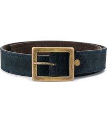 paolo pecora kids reversible belt - blue