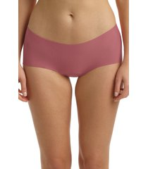 women's commando butter seamless hipster panties, size x-large - purple