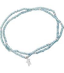 beaded stretch star bracelet