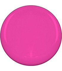 "10"" flying frisbee style hard plastic disc - pink"