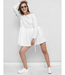 sukienka / tunika z muślinu fabiola biała