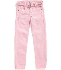 pantalon camila color rosado silueta skinny