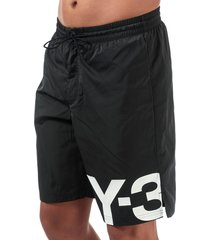 mens large logo swim shorts