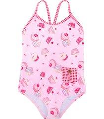 sunuva 'mini cupcake' swimsuit - pink