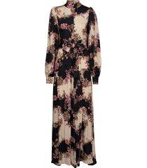 abra dress maxiklänning festklänning svart ravn