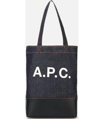 a.p.c. women's axelle tote bag - dark navy