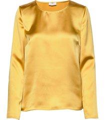2nd houston blouse lange mouwen geel 2ndday