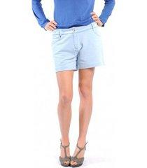 korte broek american vintage short key131 bleu jeans