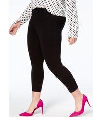 hue women's plus capri leggings