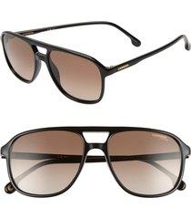 men's carrera eyewear 56mm aviator sunglasses -