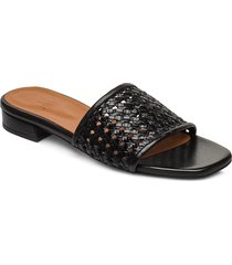slipper 4020 shoes summer shoes flat sandals svart billi bi