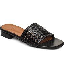 slipper 4020 shoes summer shoes flat sandals svart billi bi