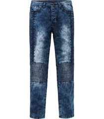 jeans elasticizzati slim fit straight (blu) - rainbow