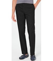 alfani men's alfatech classic-fit chino pants, created for macy's