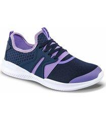 envío gratis tenis linnea azul oscuro-lila para mujer croydon