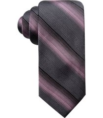 ryan seacrest distinction men's lombardy stripe slim tie, created for macy's