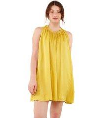 vestido anton amarillo caro criado
