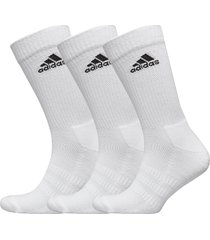 cush crw 3pp underwear socks regular socks vit adidas performance