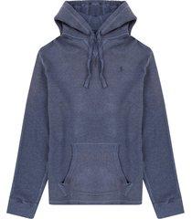 sweater fairfax blue heather polo ralph lauren ml capota ppc
