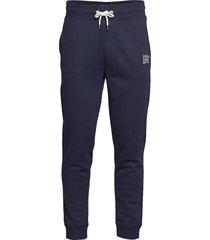 d1. graphic sweat pants trousers sweatpants blauw gant